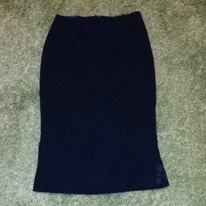 Prada Wool Skirt Black