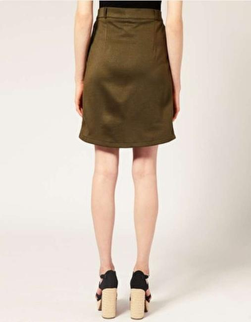 Vero Moda Military Army Tough Skirt Safari (dark olive green)