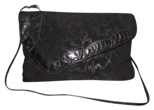 Reem Acra Leather Cross Body Bag