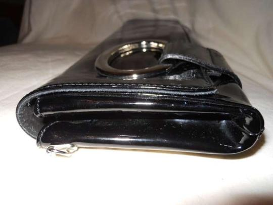 Other Patent Leather black Clutch