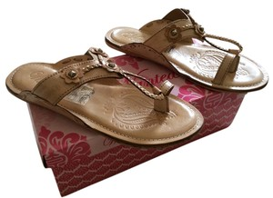 Wanted Natural leather bohemian style Sandals