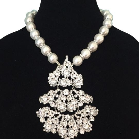 Designby azar Beautiful Bride Necklace With Larger Parle
