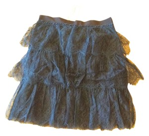Golden Goose Deluxe Brand Skirt black with blue lace