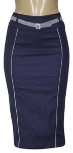 Collectif Skirt NAVY BLUE