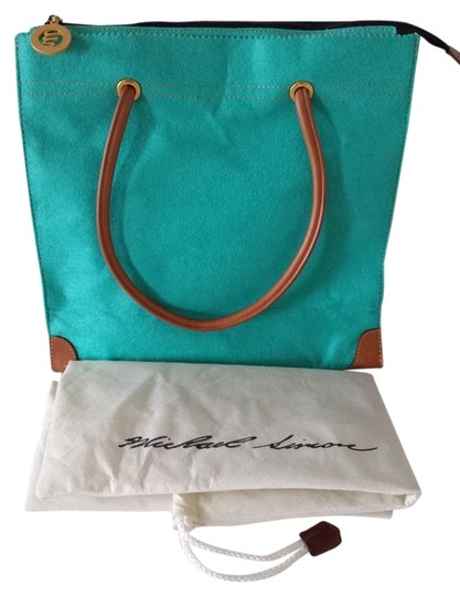 Michael Simon Tote in Turquoise