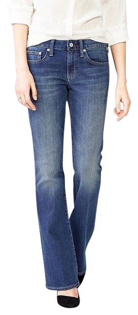 Gap Long & Lean Flare Leg Jeans-Dark Rinse