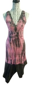 pink and black Maxi Dress by Yak and Yeti Summer Boho Hippie