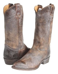Frye Brown/distressed Boots