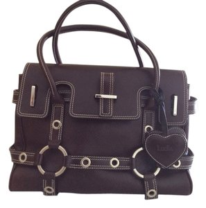 Luella Bartley for Target Gisele Satchel in Chocolate