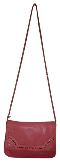 Juicy Couture Leather Monogram Crystal Cross Body Bag