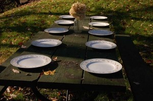 Plates 10 Pc. Set Tableware