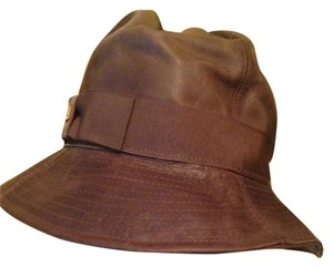 Dior Sexy Brown Leather Dior hat