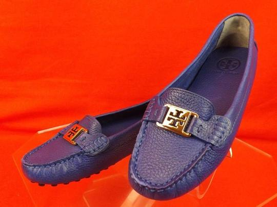 Tory Burch Jelly Blue Flats