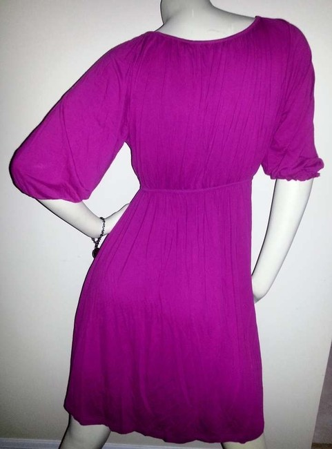 New York & Company short dress Pink Cotton Cool on Tradesy