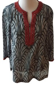 Talbots Beach Beaded Embellished Swim Cover-up Lilly Pulitzer Tory Burch Tunic