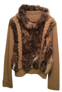 Gaby & Eden Rabbit / tan knit Jacket