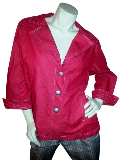 Preload https://item5.tradesy.com/images/joan-rivers-red-denim-jacket-size-18-xl-plus-0x-383039-0-0.jpg?width=400&height=650