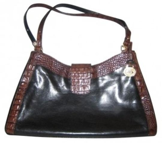 Preload https://img-static.tradesy.com/item/38304/brahmin-black-and-brown-leather-shoulder-bag-0-0-540-540.jpg