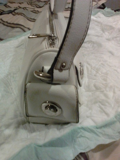 Marc Jacobs White leather Clutch