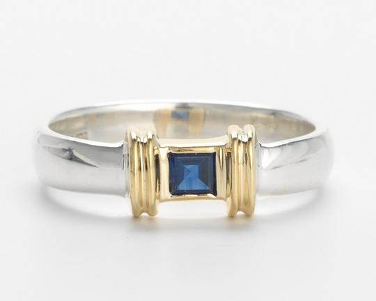 Preload https://item1.tradesy.com/images/tiffany-and-co-gold-silver-sapphire-co-unique-18k-and-ring-383055-0-0.jpg?width=440&height=440