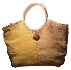 Bijoux Terner Tote in Yellow/Beige