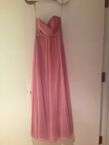 Allure Bridals Dusty Rose Chiffon 1221 Formal Bridesmaid/Mob Dress Size 2 (XS)