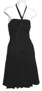 bebe Dance Cocktail Party Vintage Little Vintage Swing Halter Halter Dress