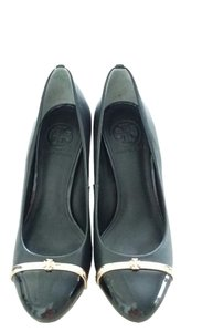 Tory Burch Gold black Pumps