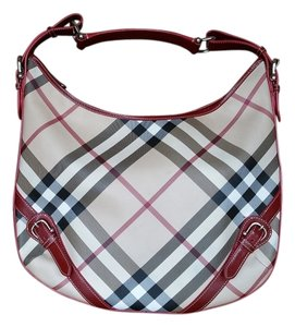 Burberry Nova Check Opulent Buckle Buckles Hobo Bag