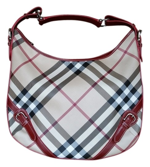 Burberry Nova Check Opulent Habits Buckle Buckles Hobo Bag
