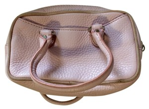 Cole Haan Village Village F04 Leather Suede Clutch Mini Wristlet in Light Pink