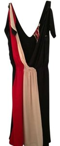 L.A.M.B. short dress Navy Blue with Red & Off-White on Tradesy