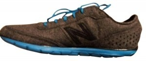 New Balance Grey with Blue & Black Athletic