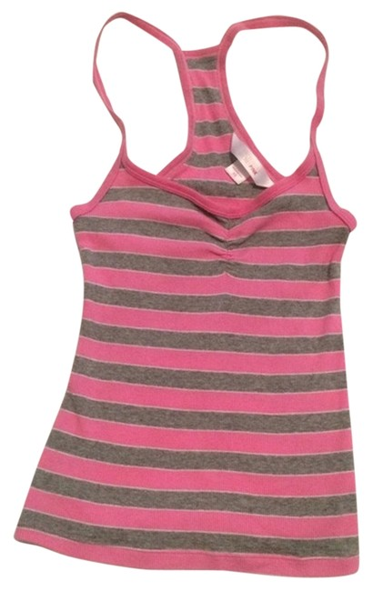 Pink Victoria Secret tank top Top Pink and gray