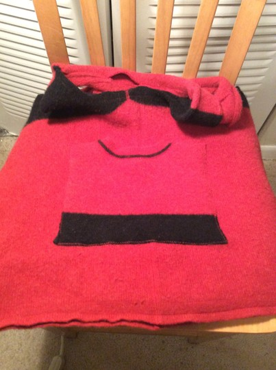 Other Tote in Red/ black trim
