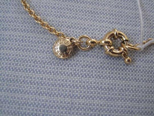 J.Crew J.Crew Gold Necklace w/ Purple Pearl and Bow Detail