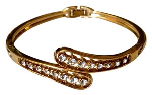 Other New 14K Gold Filled Bangle Bracelet Cubic Zirconia J990
