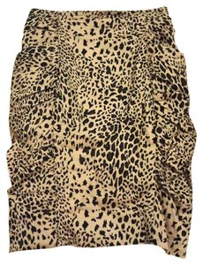 Forever 21 Pencil Wiggle Animal Skirt Leopard Print