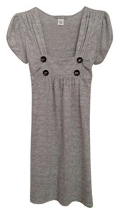 dELiA*s short dress Grey on Tradesy
