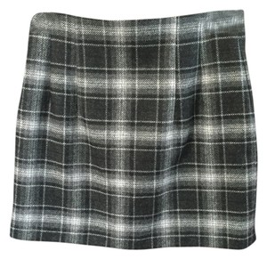 French Connection Plaid Mini Mini Skirt Multicolor