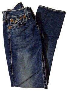 True Religion Denim Indigo Straight Leg Jeans-Medium Wash