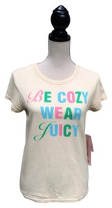 Juicy Couture T Shirt Parchment