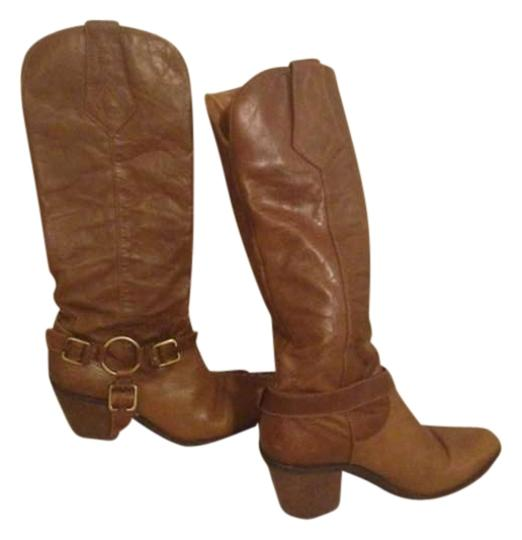 Preload https://img-static.tradesy.com/item/383345/white-mountain-cognac-cowboy-leather-bootsbooties-size-us-8-0-0-540-540.jpg