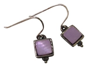 American Eagle Outfitters Purple Square Earrings