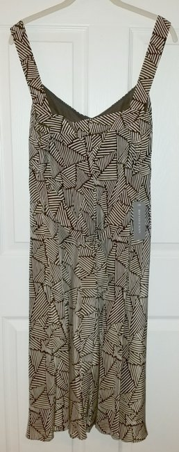 brown beige Maxi Dress by Ann Taylor