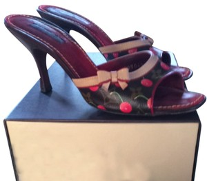 Louis Vuitton Cherry Monogram Mules