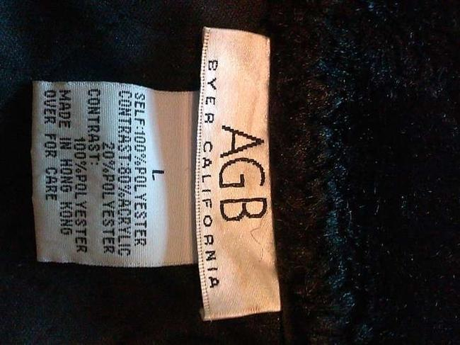 AGB Fur Fur Quilted Sleeveless Vest