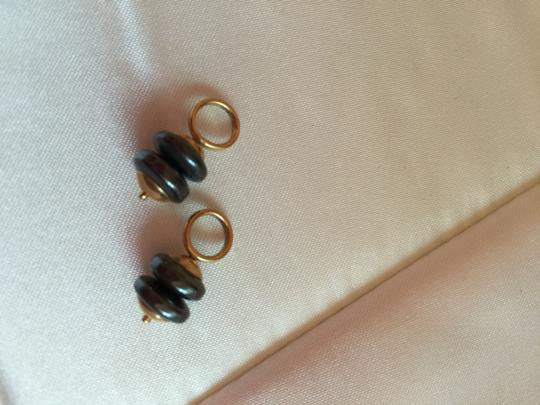 MARQUIS JEWELERS 14K YELLOW GOLD DANGLES FOR HOOP EARRINGS--FUN !!