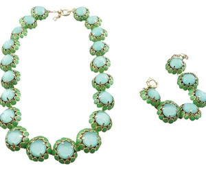 J.Crew Crystal Cupcake Green New Without Tags Jewelry