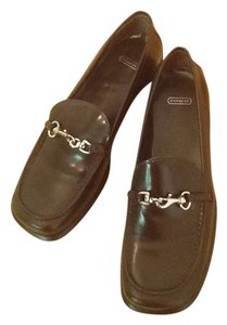Coach Leather Loafer Classic Mahogany Flats